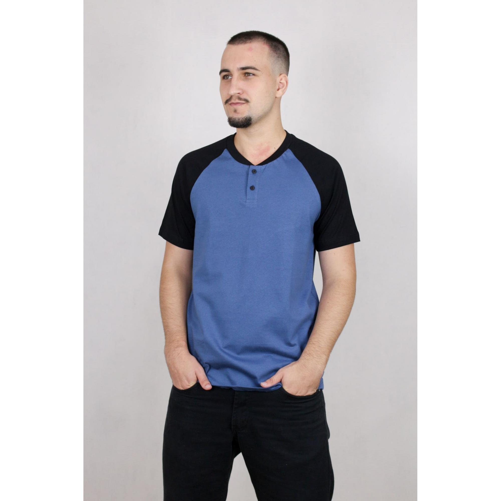 Camisa Masculina Manga Raglan