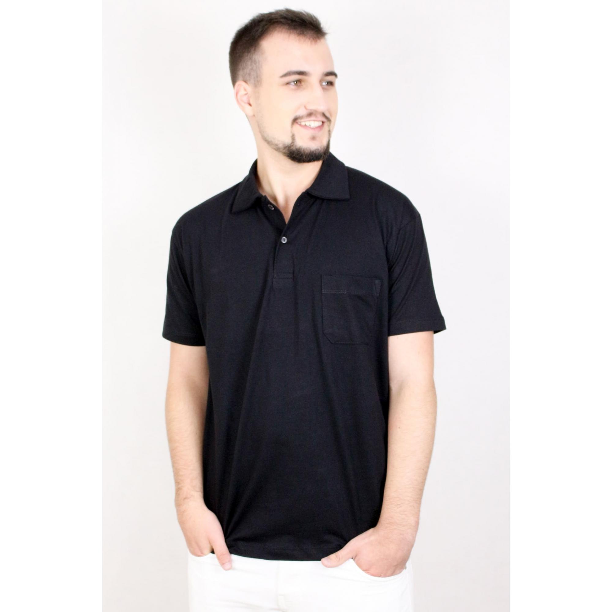 Camisa Polo Algodão