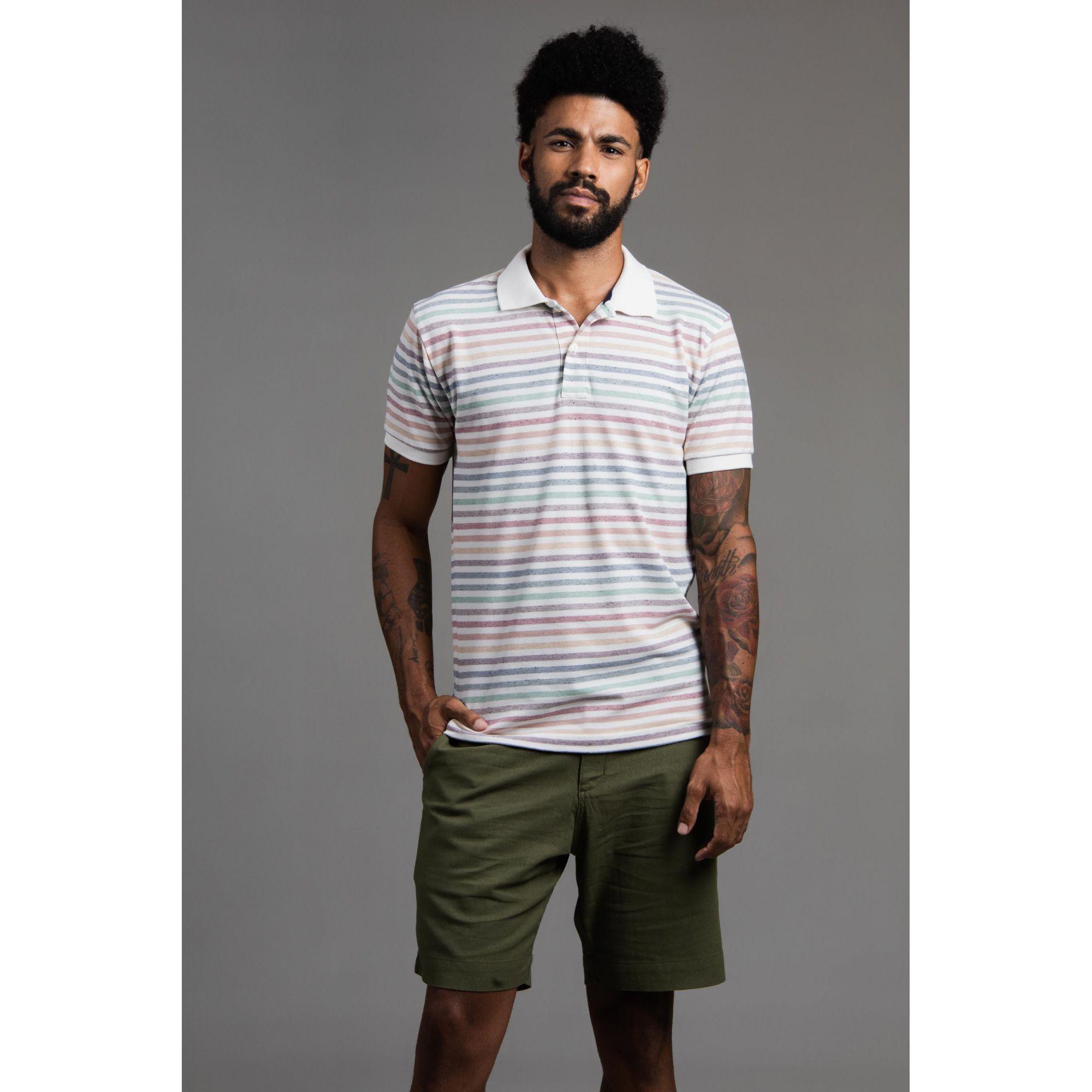 Camisa Masculina Gola Polo