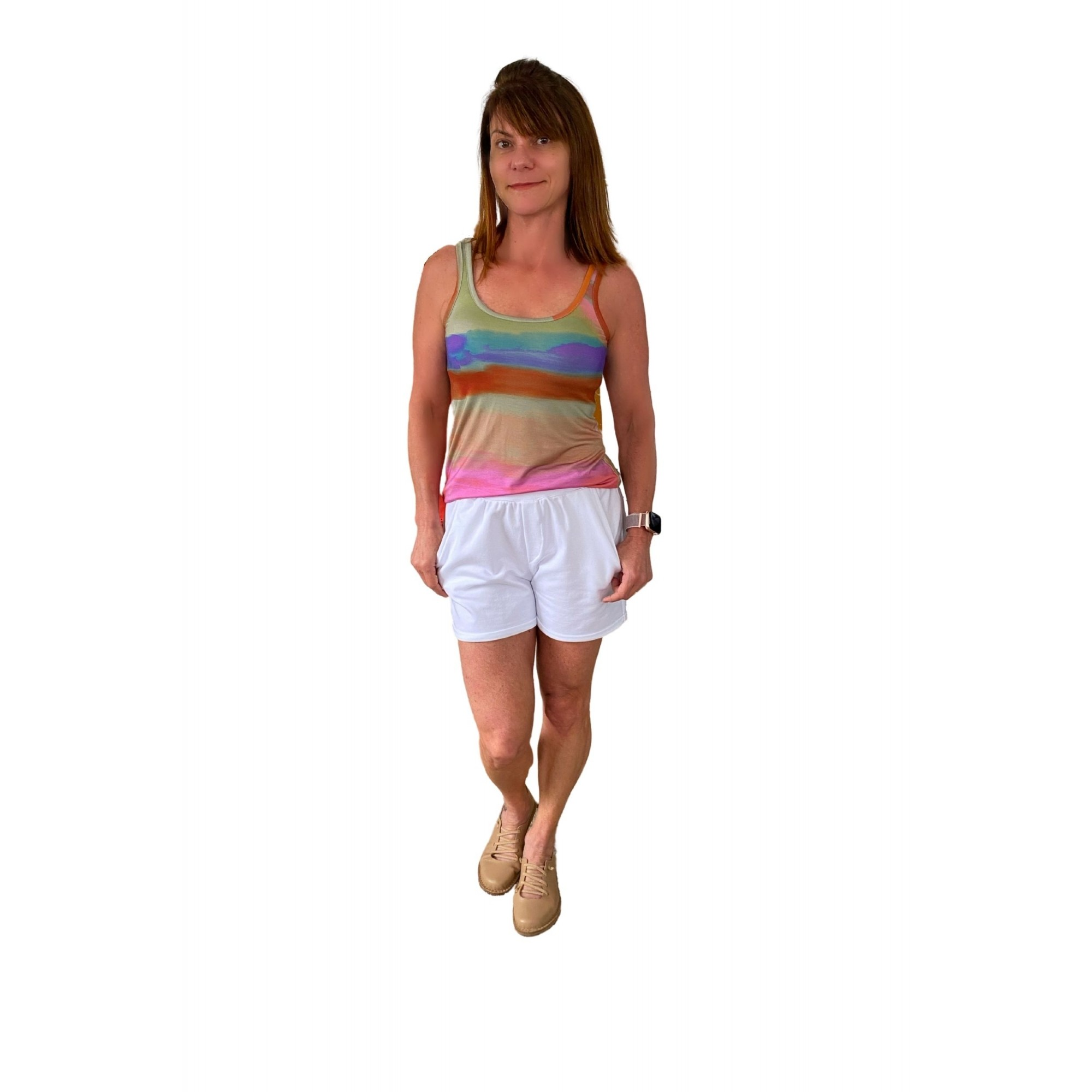 Camiseta Feminina Tie Dye
