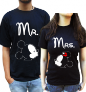 Kit Camiseta Mickey E Minnie