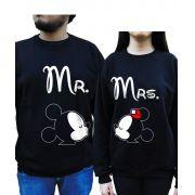 Kit Moletom Mickey e Minnie Namorados