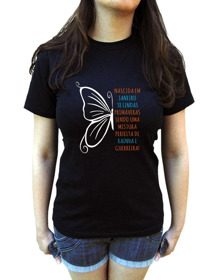 Camiseta Borboleta