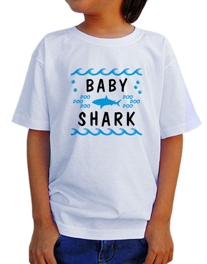 Camiseta Infantil Baby Shark