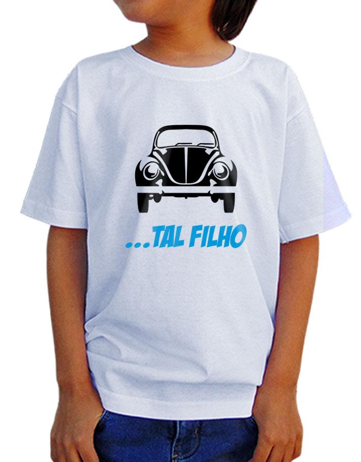 Camiseta Infantil Fusca