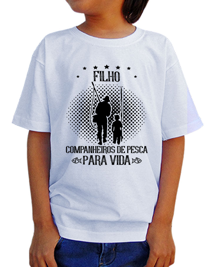 Camiseta Infantil Pesca