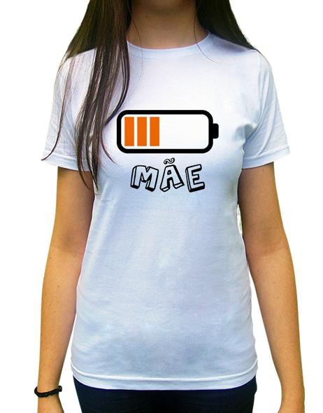 Camiseta Mae Pilha