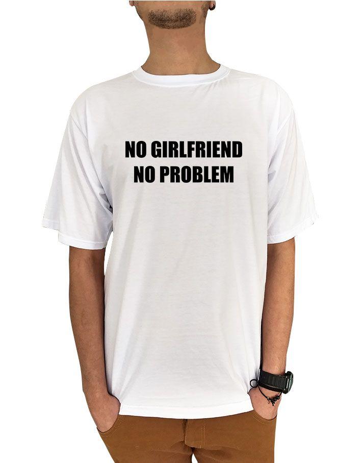 Camiseta No Girlfriend