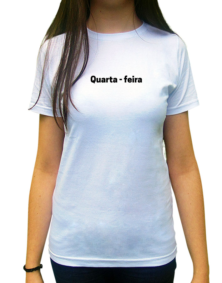 Camiseta Quarta