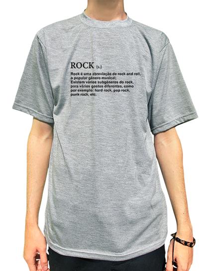 Camiseta ROCK Definição