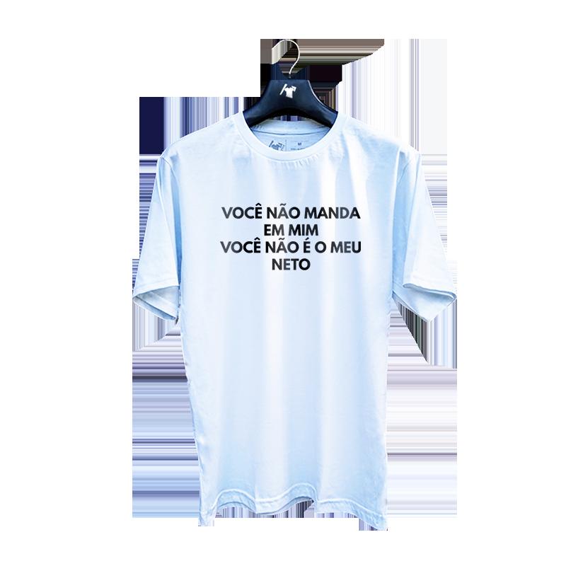 Camiseta Você Não é Meu Neto