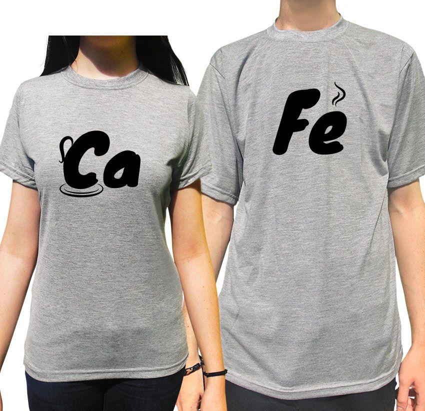 Kit Camiseta Café Namorados