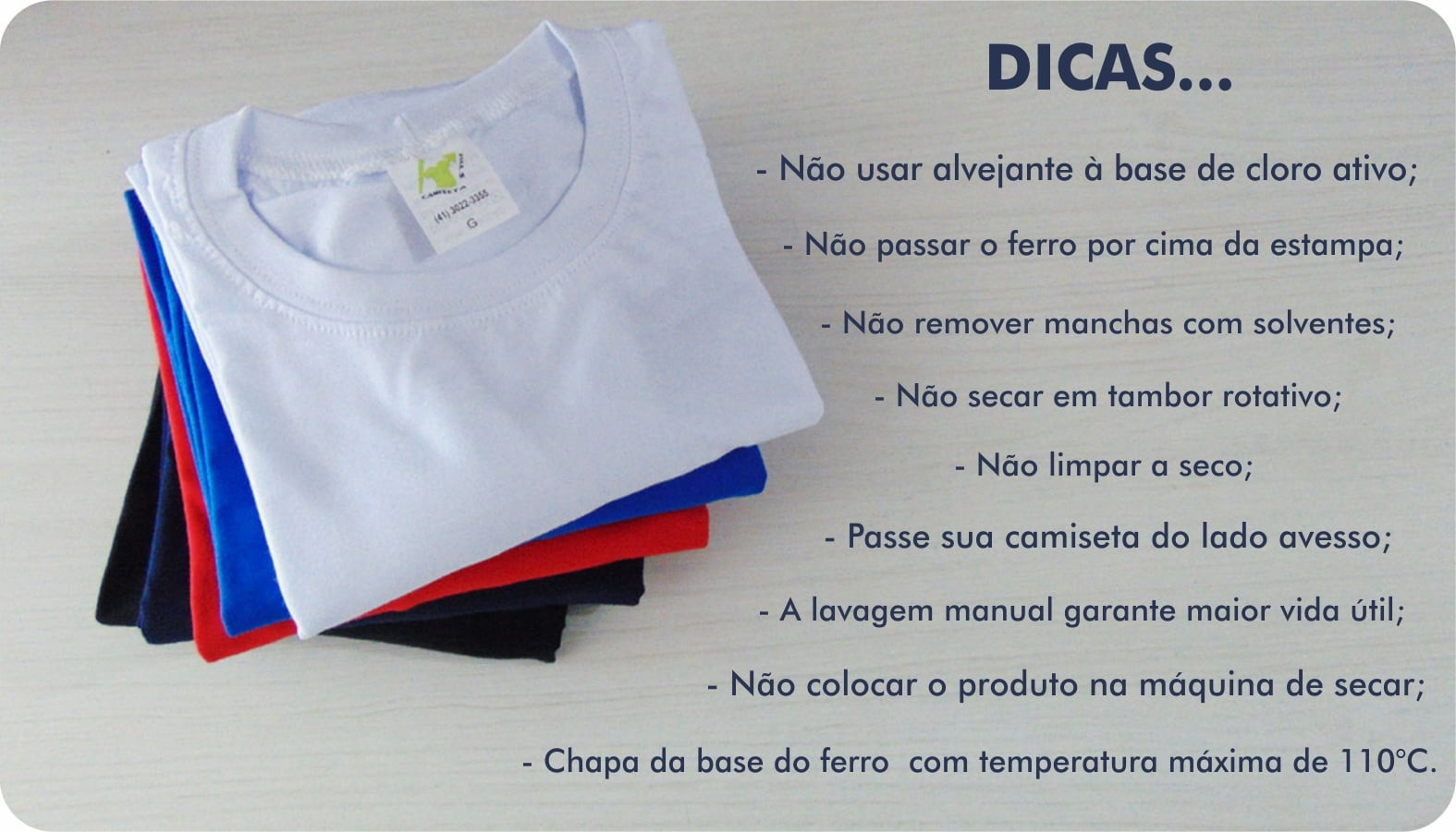 Kit Camiseta Pilha Família C/3 - Dicas