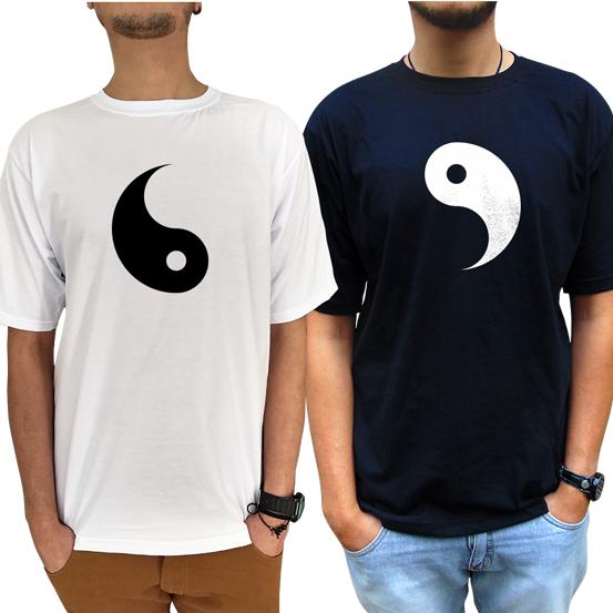 Kit Camiseta Yin-yang Casal