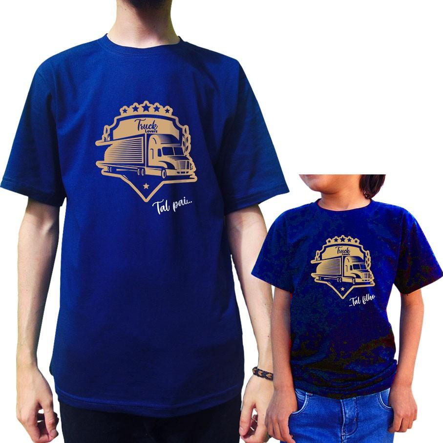 Kit Camisetas Amantes de Caminhão