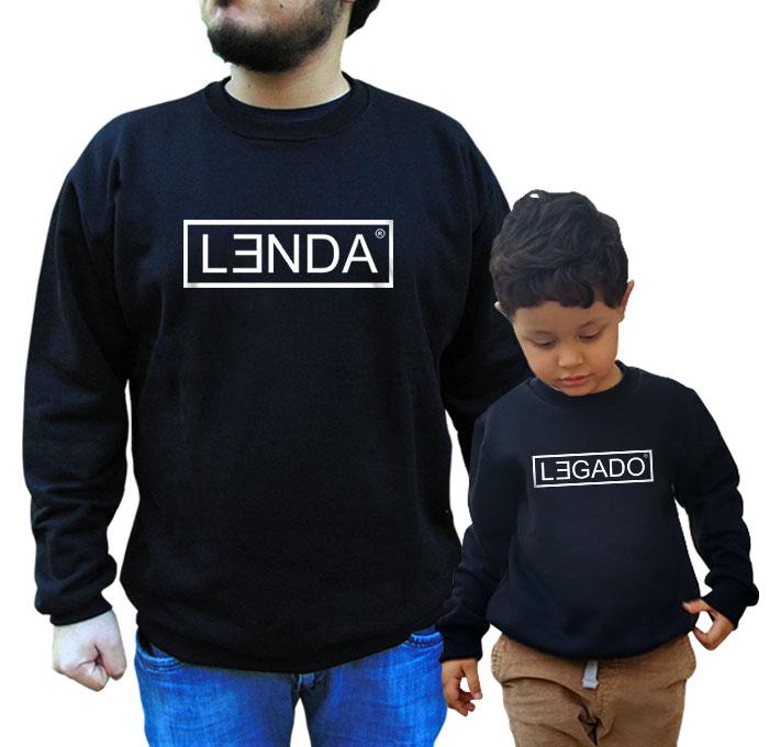 Kit Moletom Lenda Legado