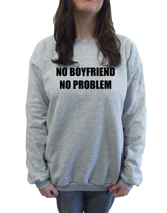 Moletom No Boyfriend