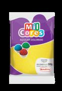 Açúcar Colorido Amarelo 500g Mil Cores Mavalério