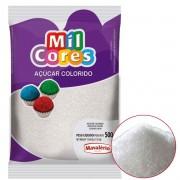 Açúcar Colorido Branco Mil Cores Mavalério 500g