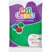Açúcar Colorido Verde Mil Cores Mavalério 500g