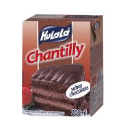 Chantilly Hulala 200ml sabor Chocolate