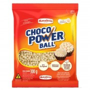 Choco Power Ball Mini Branco 300g Mavalério