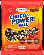 Choco Power Ball Mini Chocolate e Chocolate Branco 500g Mavalério