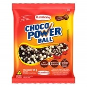 Choco Power Ball Mini Chocolate e Chocolate Branco 500g Mavalério
