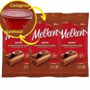 Chocolate ao Leite Harald Melken Gotas 2,1kg kit C/3