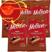 Chocolate ao Leite Harald Melken Gotas 2,1kg kit C/5
