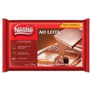 Chocolate Ao Leite Nestle 2,1kg Barra Chocolate Nestlé