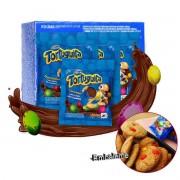 Chocolate ChocoOvinhos Tortuguita Arcor Caixa com 10 unidades de 50g cada