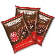 Chocolate em Pó 33% Cacau 300g Sicao Kit c/3