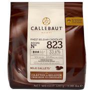 Chocolate Gotas Ao Leite 823 (33,6% Cacau) 400g Callebaut