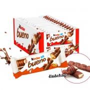 Chocolate Kinder Bueno Tradicional Caixa 30 Unidades de 43g (Cada)
