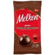 Chocolate Meio Amargo Gotas 2,1kg Melken Harald