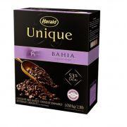 Chocolate Meio Amargo Gotas Unique 53% Bahia 1,05kg Harald