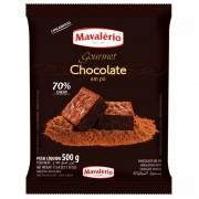 Chocolate Pó Gourmet 70% cacau em pó 500g Mavalério