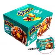 Chocolate Tortuguita  + Leite com Recheio Sabor Beijinho Caixa C/24 unidades de 17,5g Cada