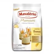Cobertura Fracionada Branca Gotas 1,01kg Mavalério Premium