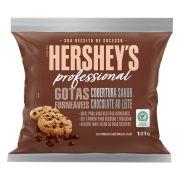 Gotas Cobertura Fracionada Sabor chocolate ao Leite Forneáveis 1,01kg Hershey's