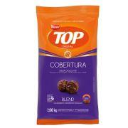 Cobertura Fracionada sabor chocolate  Blend Gotas 2,1 kg Top Harald