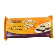 Cobertura Fracionado Meio Amargo Sicao 1,01 kg Barra Dia a Dia