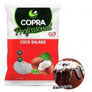 Coco Ralado Flocos padrão 1kg Copra Profissional