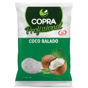 Coco Ralado Médio 1kg Copra Profissional