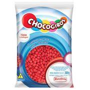 Confete Mini Pastilhas Vermelha Chocogiros 300g Mavalério