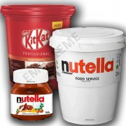Creme Kitkat 2,1kg Nestlé Cremoso+nutella 3kg + Nutella 140g