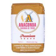 Farinha de Trigo Anaconda Premium Tipo 1 1kg
