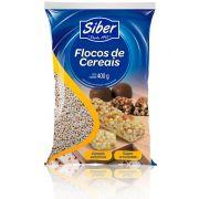 Flocos de Cereais crocantes 400g Siber