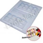 Forma de silicone Tablete Barra (9697) BWB
